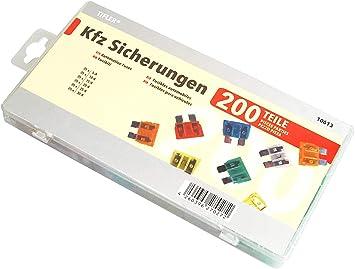 200 Kfz Sicherungen Im Sortiment 5 A 30 A 19 Mm 200 Flachsicherungen Autosicherungen Auto
