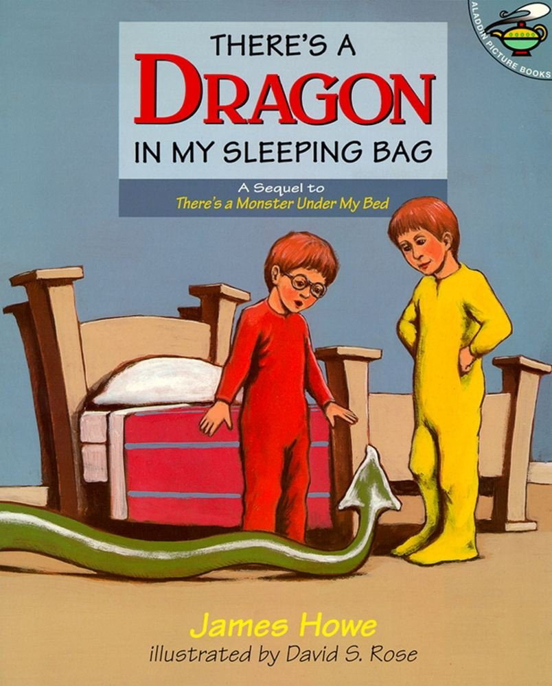 There's a Dragon in My Sleeping Bag: Amazon co uk: James