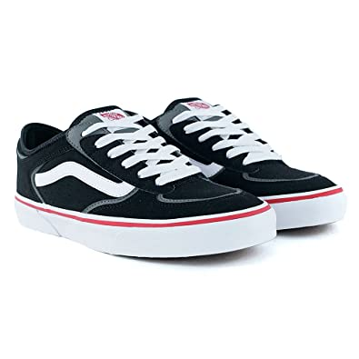 7f0f99a120e Vans Rowley Classic LX Black White Skate Shoes  Amazon.co.uk  Shoes   Bags