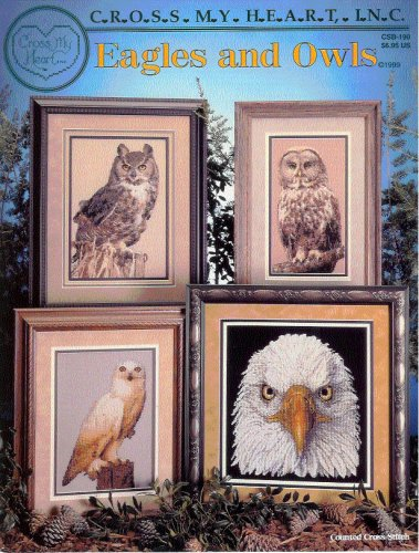 Eagles and Owls Counted Cross Stitch ()