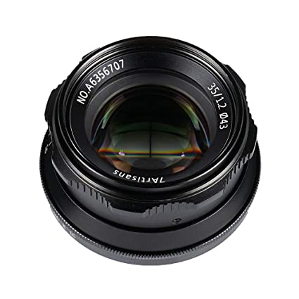 7artisans 35mm F1 2 Manual Focus Camera Lens Large Aperture APS-C