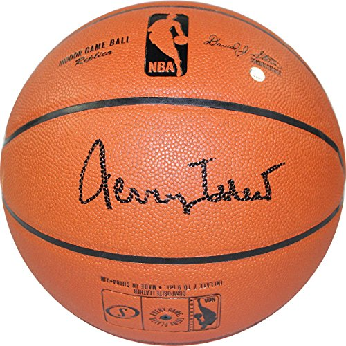 NBA Los Angeles Lakers  Jerry West Signed NBA I/O Basketballjerry West Signed NBA I/O Basketball