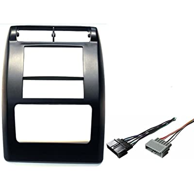 Aftermarket Double Din Radio Stereo Car Install Dash Kit Fits Jeep Wrangler 1997-2002: Automotive