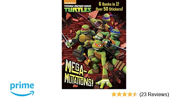 MEGA-MUTATIONS! - JU: Golden Books: 9780385385046: Amazon ...