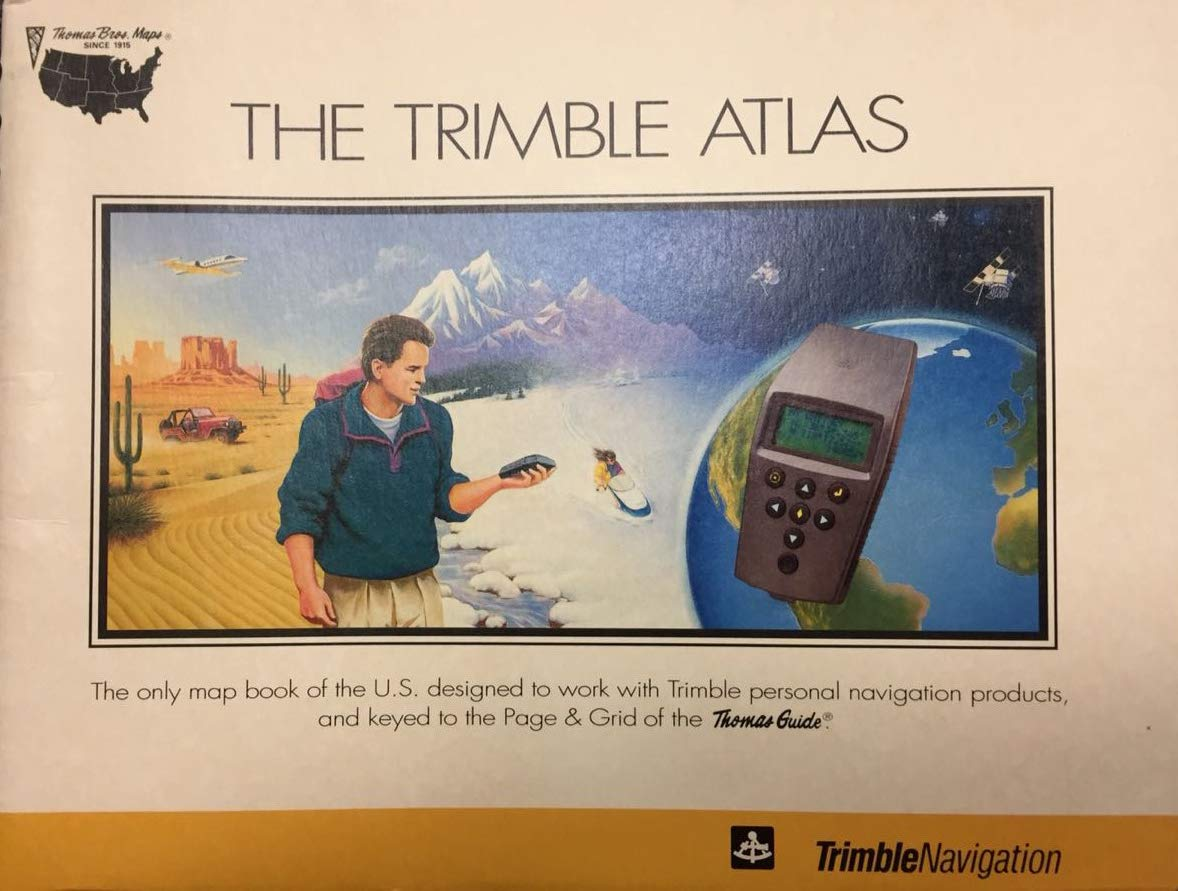 The Trimble Atlas The Only Map Book of the U. S. Designed to ... on santa fe us map, painted desert us map, blank us map, grand canyon us map, view us map, list us map, colorado river us map, editable us map,