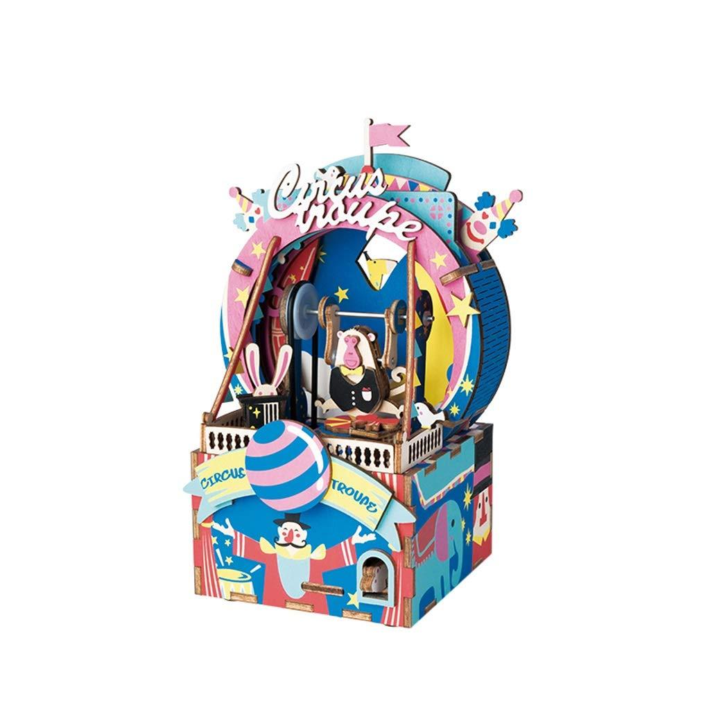 WDX-Caja de música de Madera Creative Box Regalo de los ...