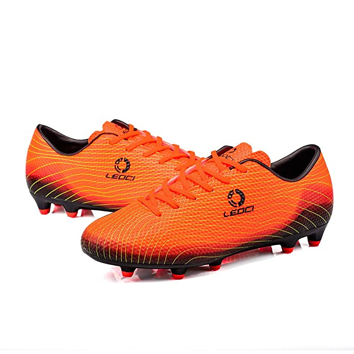 f222cc048eb Anduode Kids  Athletic Soccer Cleats Football Boots Shoes (US2 ...