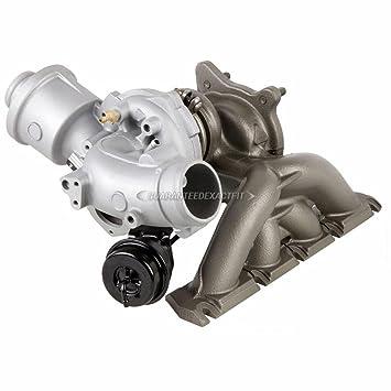 Remanufacturados Genuine OEM Turbo turbocompresor para Audi A4 2.0T - buyautoparts 40 - 30100r remanufacturados: Amazon.es: Coche y moto