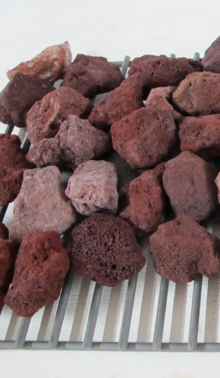 Green Texan Organic Farms BBQ Lava Rock 7 Pounds
