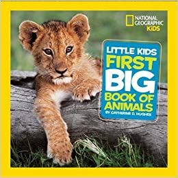 national geographic little kids first big book of animals national geographic little kids first big books catherine d hughes 9781426307041 amazoncom