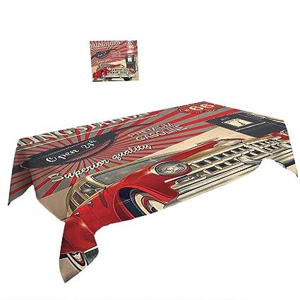 Amazoncom Warm Family Rectangular Table Cloth W70 X L120 Inch