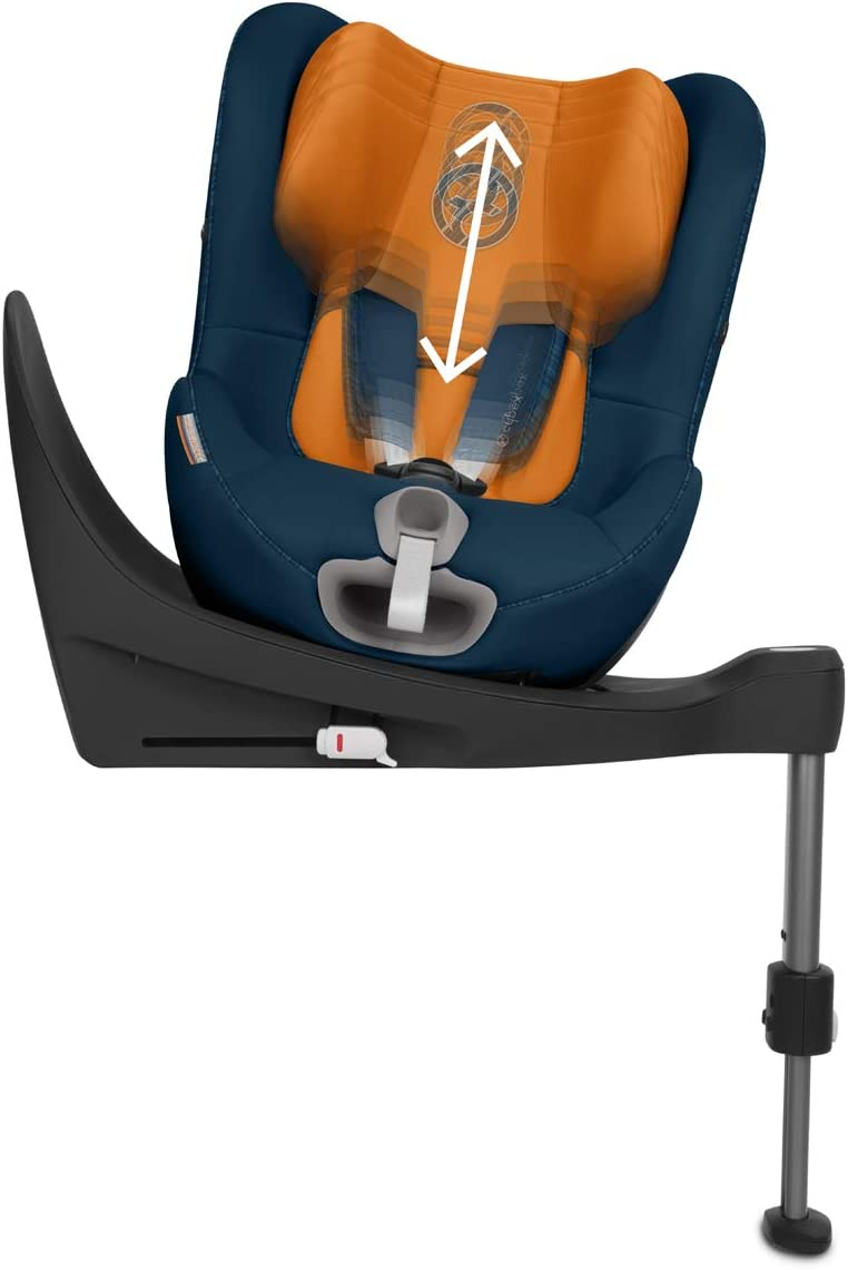 Soho Grey Up to Maximum 105 cm Height From Birth to Approximately 4 Years CYBEX Gold Sirona S i-Size Car Seat with ISOFIX and 360 Degree Swivel Mechanism for easy entry and exit