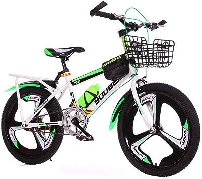 MUYU Bicicleta de montaña con Marco de Acero al Carbono de 7 ...