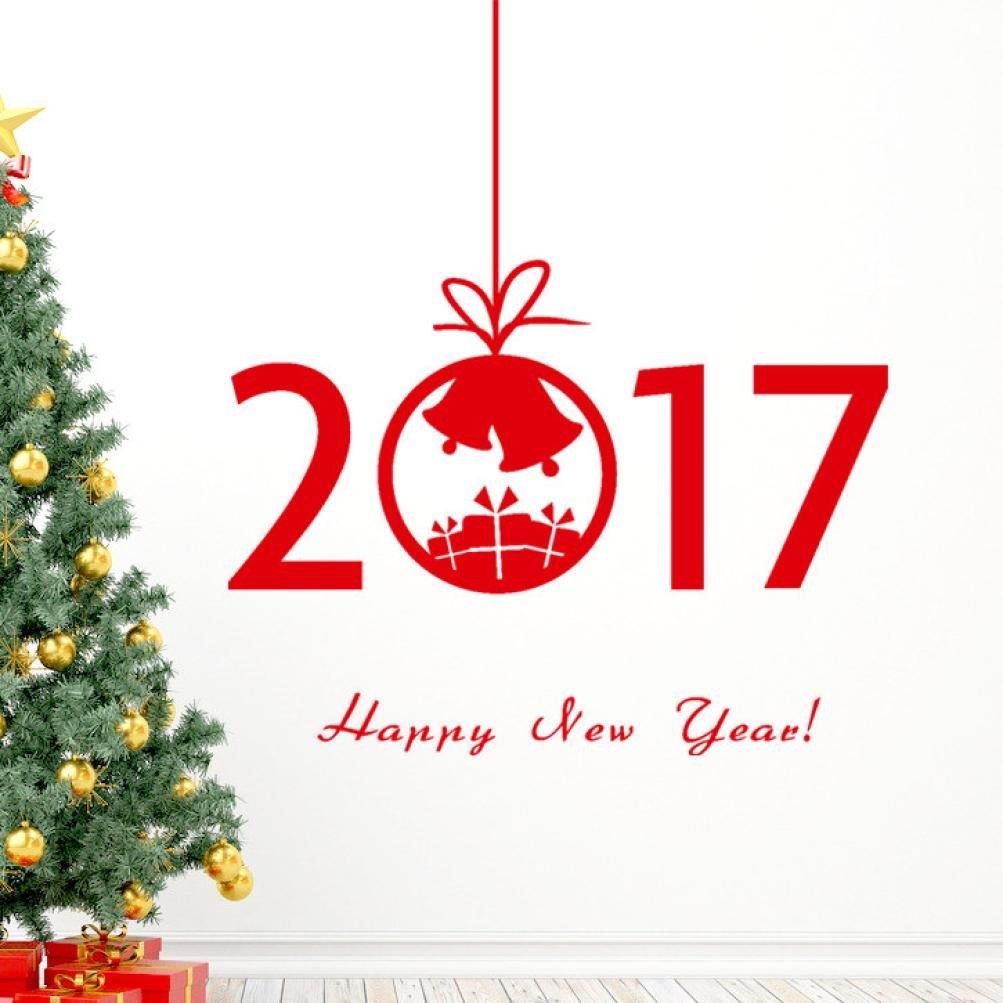 New Year Wall Sticker