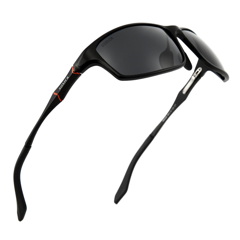 Men Polarized Sunglasses - UV400 Protective Lenses Outdoor Clarity Sun Glasses
