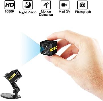 HD 1080p Mini DVR Camera Night Vision Outdoor Hidden Covert Motion Detect