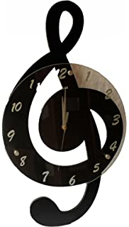 Amazoncom Treble Clef Musical or Music Theme Wall Clock by