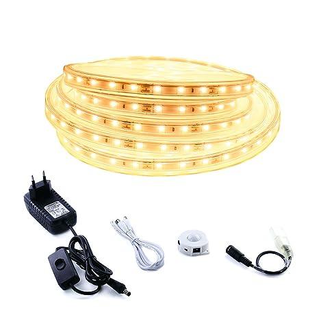 3M Tiras de luces LED, iluminación con sensor de movimiento,luz tira led cálido
