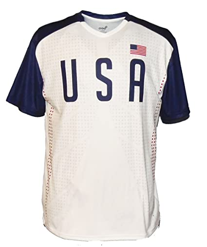 5c2aab873 Amazon.com   USA National Team Soccer Jersey - Replica   Clothing