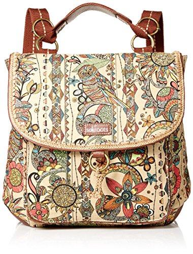 Sakroots Convertible Backpack, Camel Spirit Desert