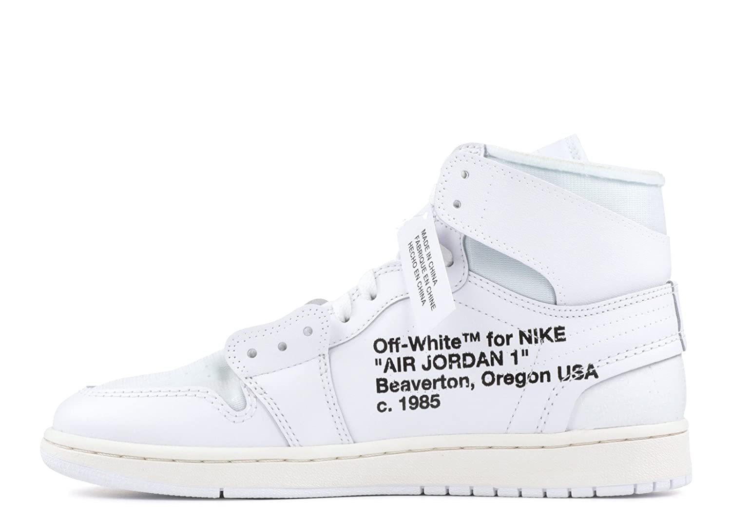 1bb914e8b8d Amazon.com | Air Jordan 1 x OFF-WHITE NRG