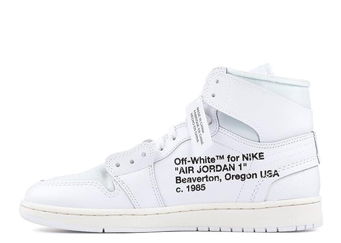 sale retailer 64225 602d2 Amazon.com | Air Jordan 1 x OFF-WHITE NRG