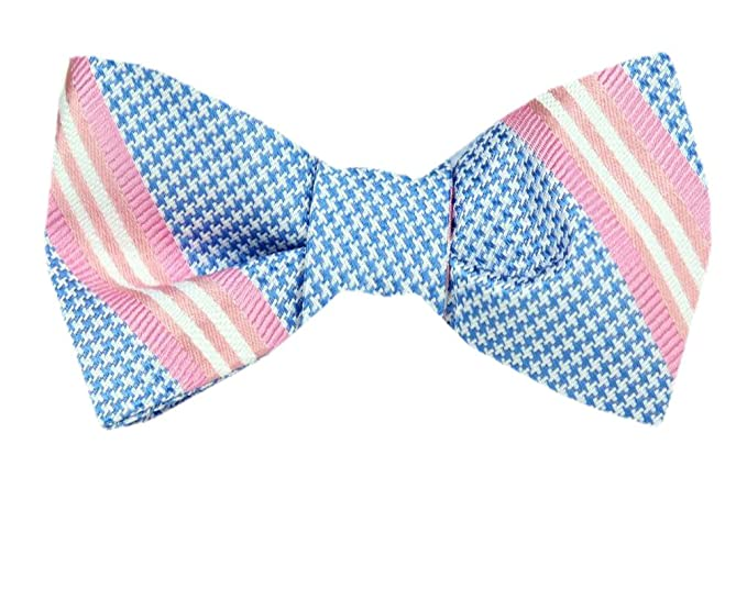 1bc800334fb5 Image Unavailable. Image not available for. Color: FBTZ-1210 - Men's Silk  Self Tie Bowtie ...