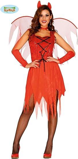 Guirca – Disfraz de diablo con alas Womens, L, 84260: Amazon.es ...