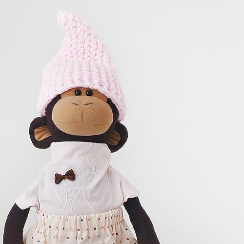 Stuffed monkey toy 15 inch