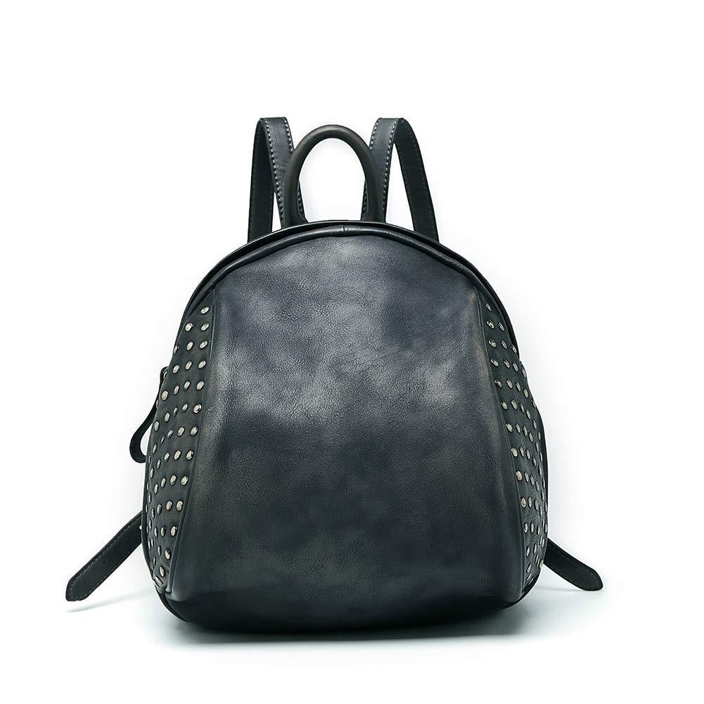 Huasen Evening Bag New Women's Backpack Daypack - Girl Vintage Studded Handbag Rucksack Handbag Wallet Makeup Bag for Everyday School/Work/Short Trip/Street/Party for Ladies Party Handbag