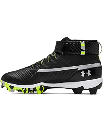 567f07a57d61 Under Armour Kids' Harper 3 Mid Jr. Rm Baseball Shoe