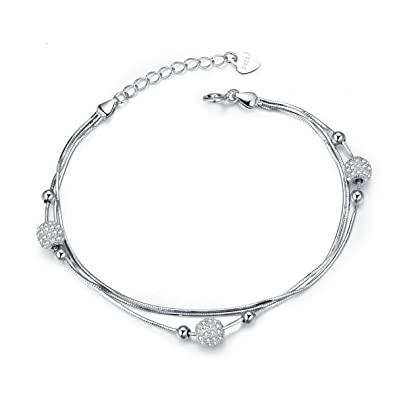 Dainty Delicate Star Adjustment Chain Bracelet with 925 Sterling Silver Friendship Jewellery for Women Teenage Borong 4atti