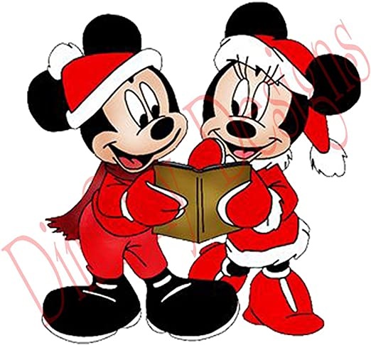 Disney Mickey y Minnie Mouse Vestido de Papá Noel disfraces, libro ...