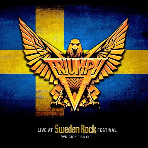 CD : Triumph - Live At Sweden Rock Festival (With DVD, 2 Disc)