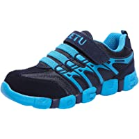 DADAWEN Boy's Girl's Sneakers Lightweight Breathable Strap Athletic Running Shoes (Toddler/Little Kid/Big Kid)