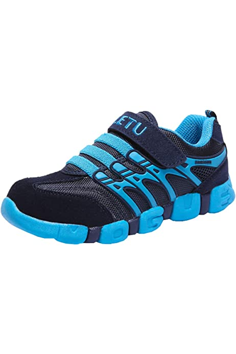 Toddler//Little Kid//Big Kid Hetios Boys Knit Slip On Shoes Kids Sock Shoes Breathable Lightweight Girls Athletic Running Sneakers