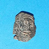1621 Spanish Philip IV Castle  and  Lion Colonial Caribbean Pirate Era 4 Maravedis Coin Copper Good
