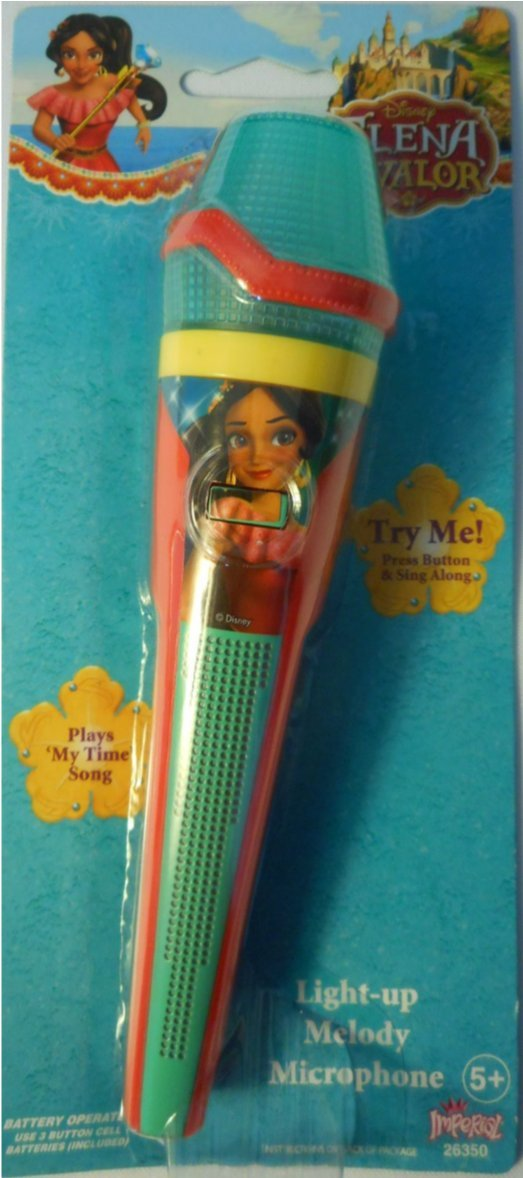Disney Princess Elena Light-Up Sing Along Microphone