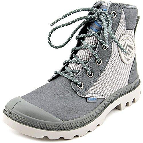 PalladiumPampa Sport Cuff WPS - botas y botines de tacón bajo Unisex adulto Sedona Sage/Vapor