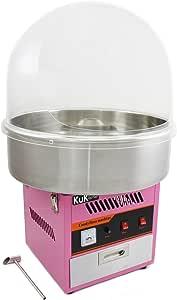 KUKOO Máquina de Algodón de Azúcar Acero Inoxidable Máquina Eléctrica para Hacer Algodón de Azúcar Cotton Candy Machine Commercial: Amazon.es: Juguetes y juegos