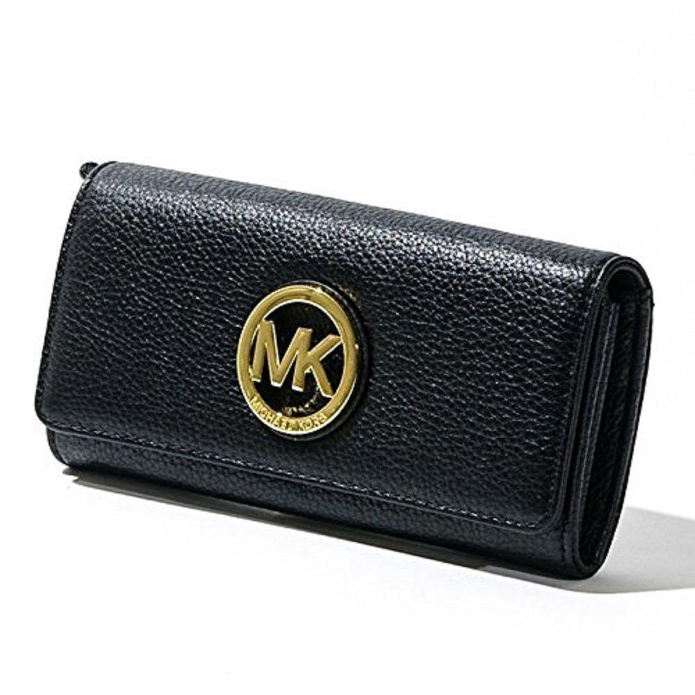 マイケルコース MICHAEL KORS 長財布 35F0GFTE1L Fulton Flap Continental Wallet [並行輸入品] B01H230N5Y