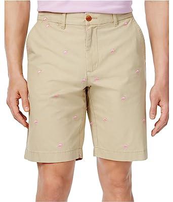 Tommy Hilfiger Mens Flamingo Casual Walking Shorts at Amazon Men's ...