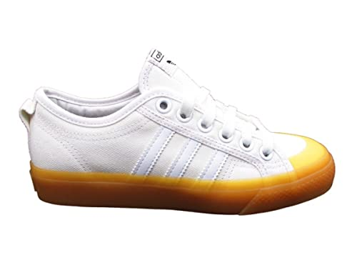 super popular ef7ee 4a4b5 ADIDAS NIZZA W SNEAKERS BIANCO MARRONE CQ2533