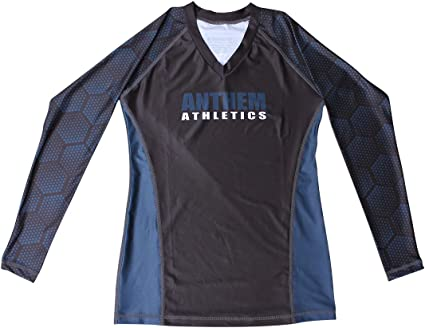 Anthem Athletics Womens Ranked Competition Long Sleeve Rash Guard BJJ MMA