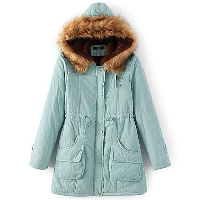 Amazon.com: Fresh -house Winter Jackets Coat Women Chaqueta ...