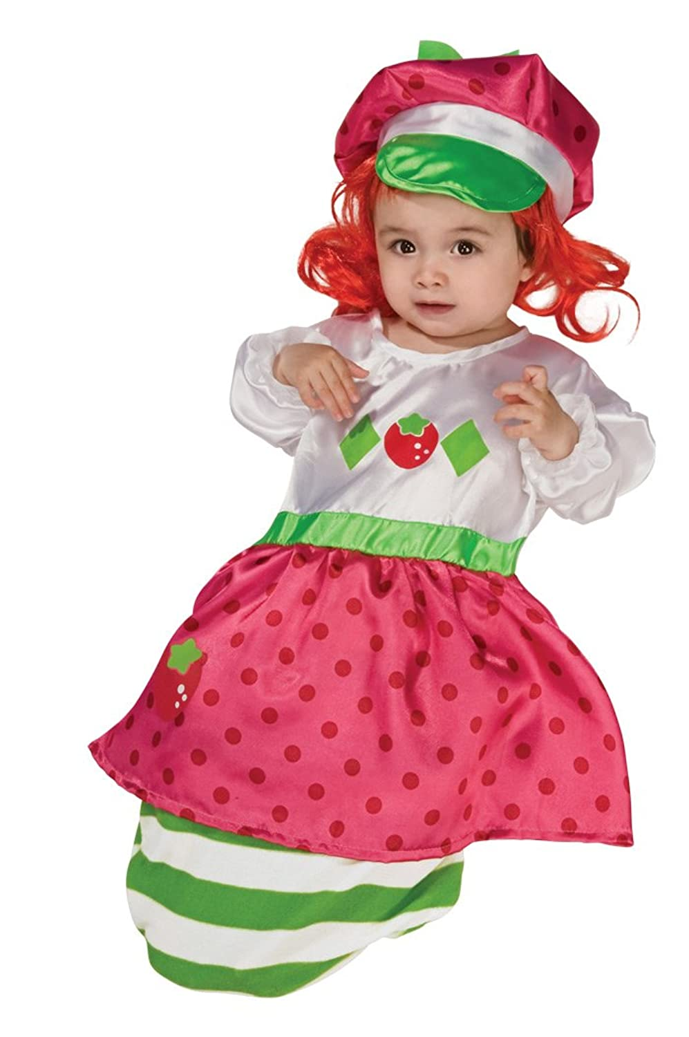 Amazon.com Strawberry Shortcake Baby Bunting And Headpiece Red Print 0-9 Months Costume Clothing  sc 1 st  Amazon.com & Amazon.com: Strawberry Shortcake Baby Bunting And Headpiece Red ...