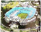 Carolina Panthers Team Signed 16x20 Picture Luke Kuechly & 15 More Autographs COA
