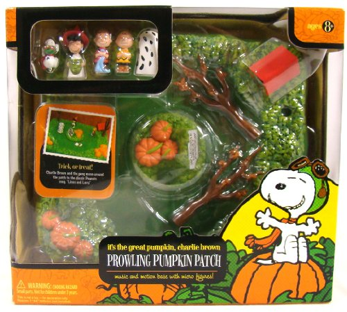 Great Pumpkin Charlie Brown Music & Motion Pumpkin Patch