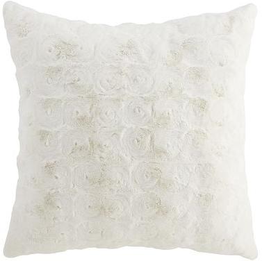 Oversized Fuzzy Pillow - Ivory | Pier 1 Imports