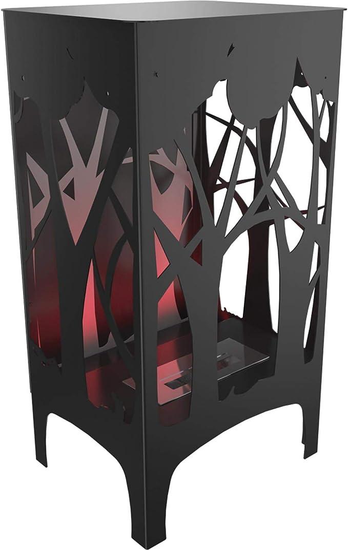 Kratki Foxtrot - Chimenea de bioetanol (LED/LED/UV), color rojo: Amazon.es: Bricolaje y herramientas